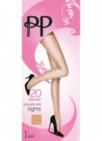 Pretty Polly Everyday 20D Smooth Knit Tights